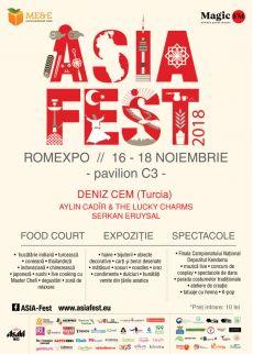 Asia Fest la Romexpo(16-18 noiembrie)